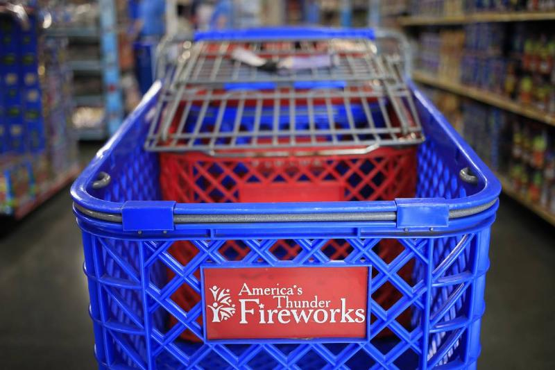 Fireworks For Sale Ahead Of July 4th Holiday