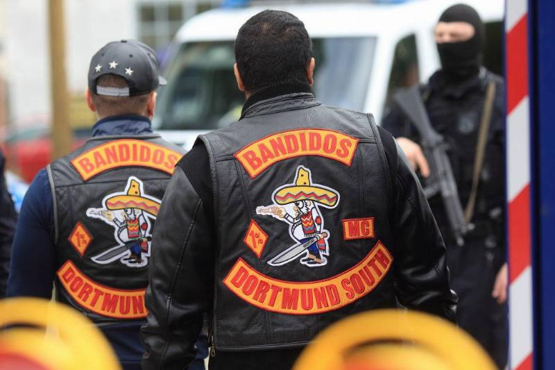bandidos in their vests