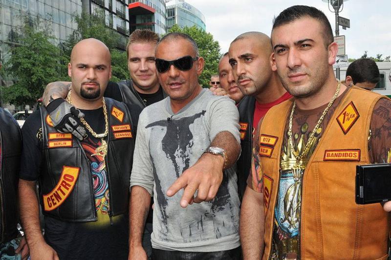 bandidos at fashion week in Berlin
