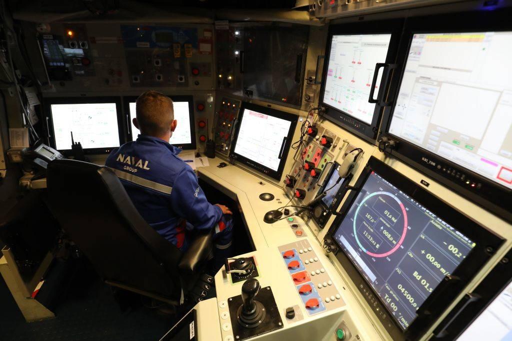 a naval officer navigating a submarine