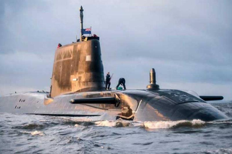 a submarine coming out of the water