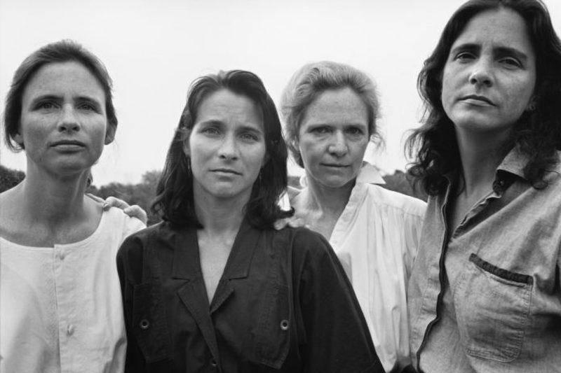 four women in a photo 1991