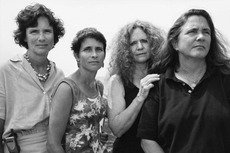 four sisters in the early 2000s