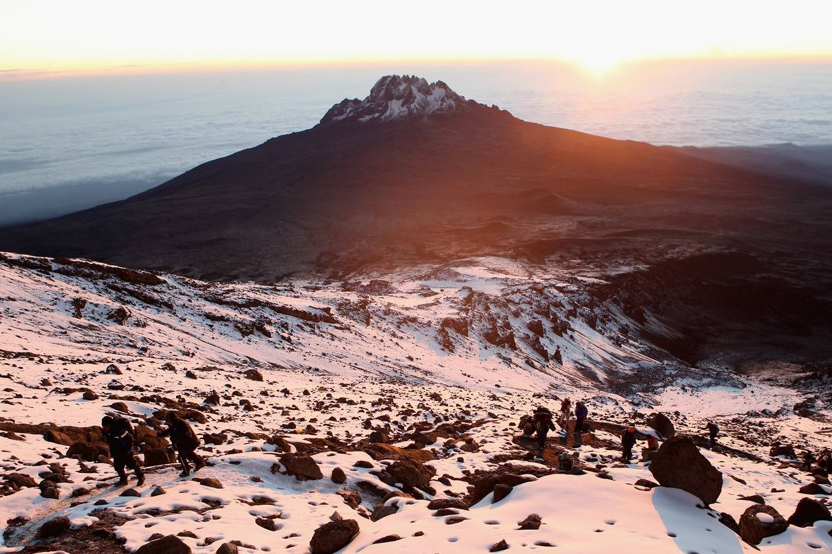 Laureus Sport for Good Foundation - Martina Navratilova Mt. Kilimanjaro Climb Day Six