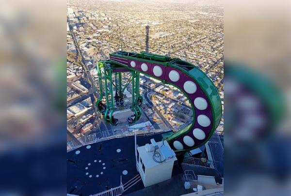 Face Your Fear Of Heights At The Stratosphere