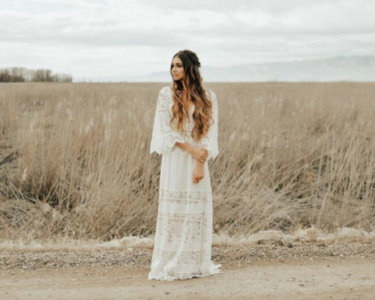 Bohemian Wedding Dresses For The Free Spirit Bride On Any Budget 14