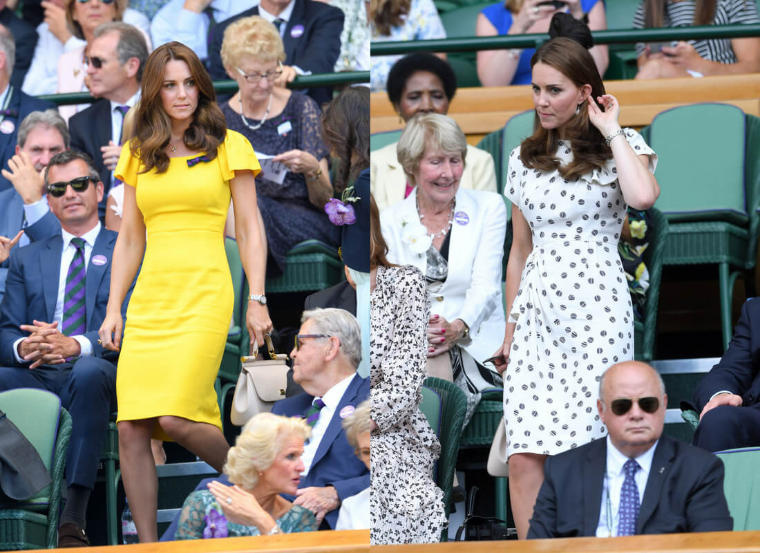 Here's What Your Favorite Celebrities Wore To Wimbledon This Year 16