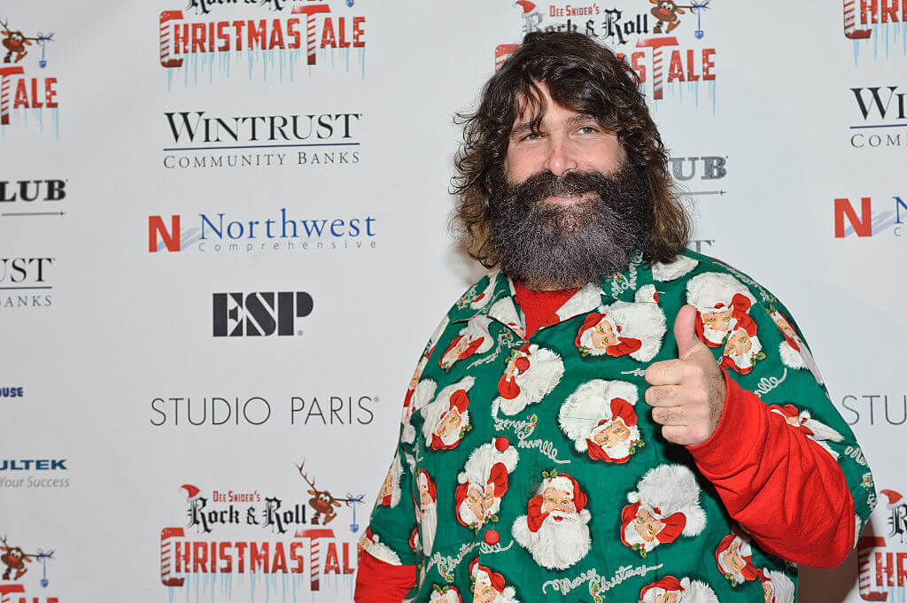 Mick Foley is a bestselling author